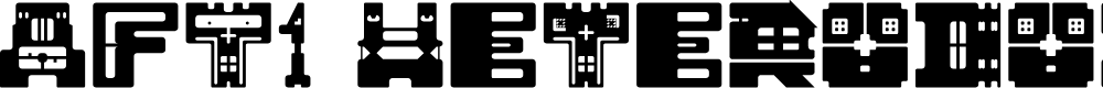 Preview image for AFT1 Heterodoxa Regular Font