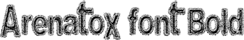 Preview image for Arenatox font Bold