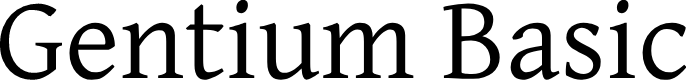 Preview image for Gentium Basic Font