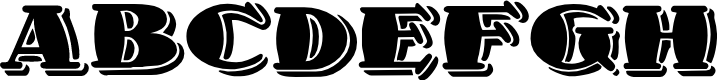 Preview image for 1998A Font