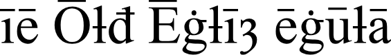 Preview image for Times Old English Regular