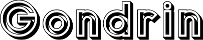 Preview image for Gondrin Font