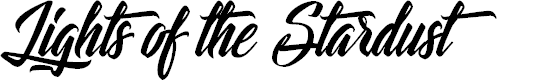 Preview image for Lights of the Stardust Font