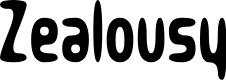 Preview image for Zealousy Font