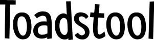 Preview image for DK Toadstool Regular Font