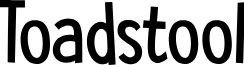DK Toadstool Regular font