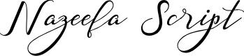 Preview image for Nazeefa Script Font