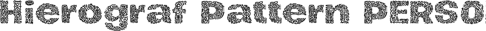Hierograf Pattern PERSONAL USE
