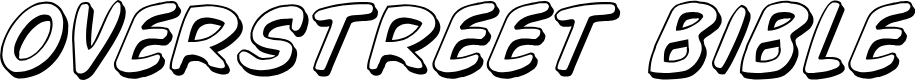 Preview image for Overstreet Bible 3D Italic