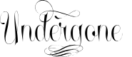 Preview image for Undergone Personal Use Font