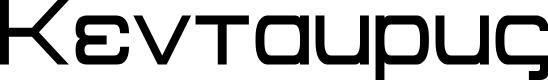 Preview image for Kentaurus Font