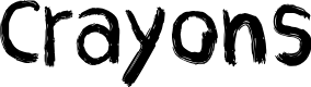 Preview image for CF Crayons Regular Font