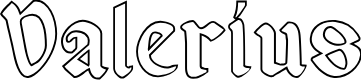 Preview image for Valerius Outline