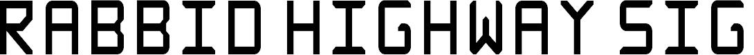 Preview image for Rabbid Highway Sign Caps Narrow Regular