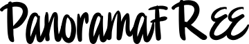 PanoramaFREE font