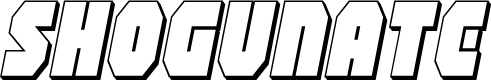 Preview image for Shogunate 3D Italic