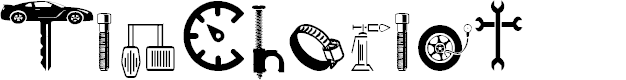 Preview image for TinChariot Font