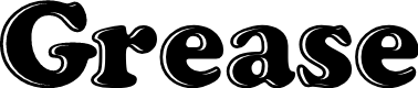 Preview image for Grease Font