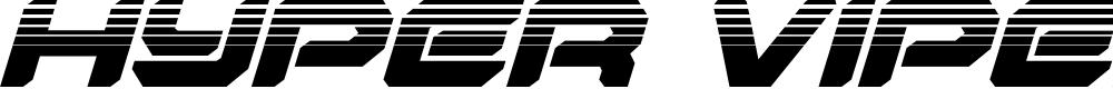 Preview image for Hyper Viper Halftone Italic
