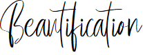 Preview image for Beautification Font