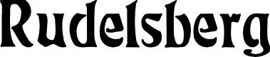 Preview image for Rudelsberg Regular Font