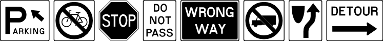 Preview image for RoadSign Font