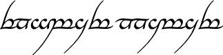 Preview image for Tengwar Annatar Italic