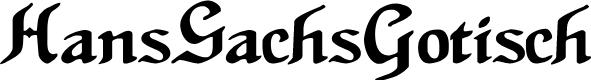 Preview image for HansSachsGotisch Font