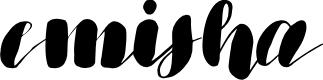 Preview image for emisha Font