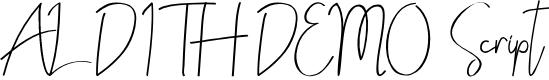 Preview image for ALDITH DEMO Script