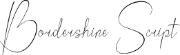 Preview image for Bordershine Script