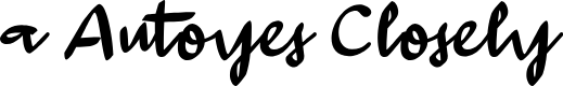 Preview image for a Autoyes Closely Font