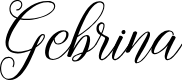 Preview image for Gebrina-Regular Font