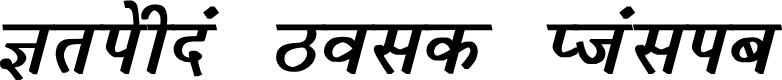 Preview image for Krishna Bold Italic