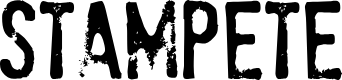 Preview image for StamPete Font
