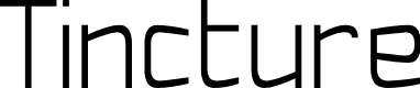 Preview image for Tincture Font