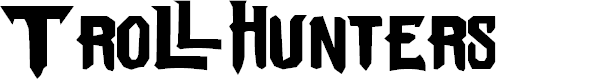 Preview image for Trollhunters Font