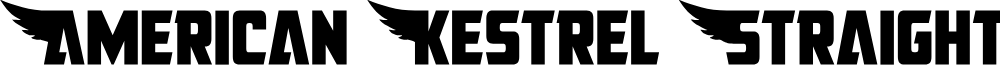American Kestrel Straight Cond