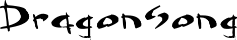 Preview image for Dragonsong Font