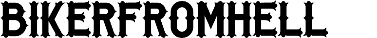 Preview image for BikerfromHell Font