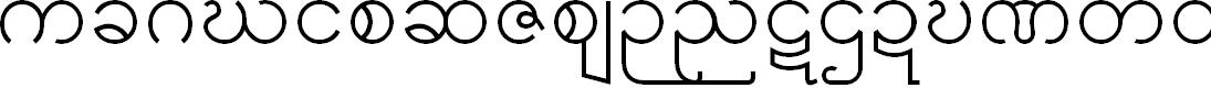 Preview image for Padauk Font