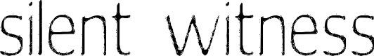 Preview image for silent witness Font