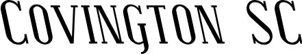 Preview image for Covington SC Rev Italic