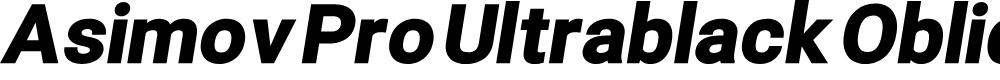 Preview image for Asimov Pro Ultrablack Oblique
