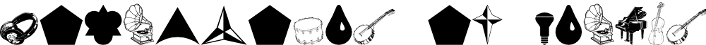 Cornucopia of Dingbats Nine Regular