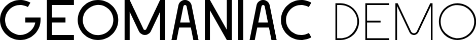 Preview image for Geomaniac Demo Font