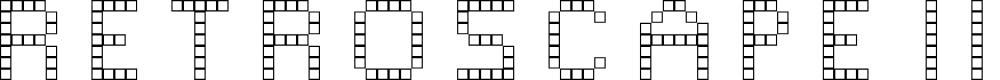 Preview image for Retroscape III Regular Font