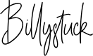 Preview image for Billystuck Font