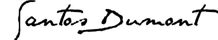 Preview image for SANTOS DUMONT Font