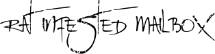 Preview image for Rat Infested Mailbox Font